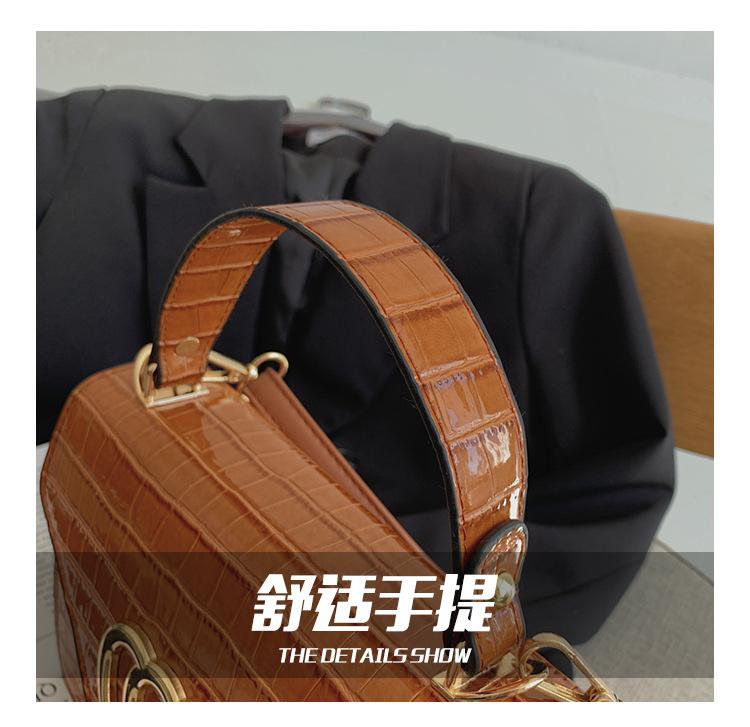 new trendy fashion  casual  wild shoulder bag  NHRU282726