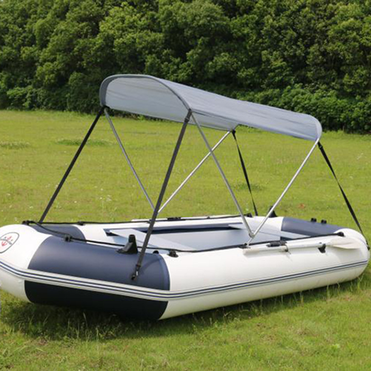 户外橡皮艇船充气船钓鱼船专用遮雨棚2.3米-3.3米船用遮阳棚