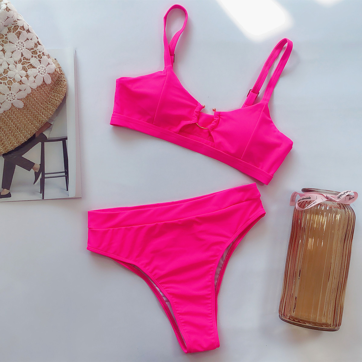 hot style swimsuit ladies split swimsuit leopard bikini new swimsuit  NSDA2190