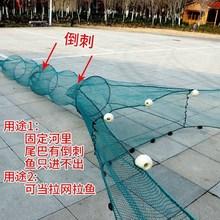 拉網拖網清塘捕魚漁網拉魚網魚塘圍攔河小型家用刮魚苗網魚抓撲魚