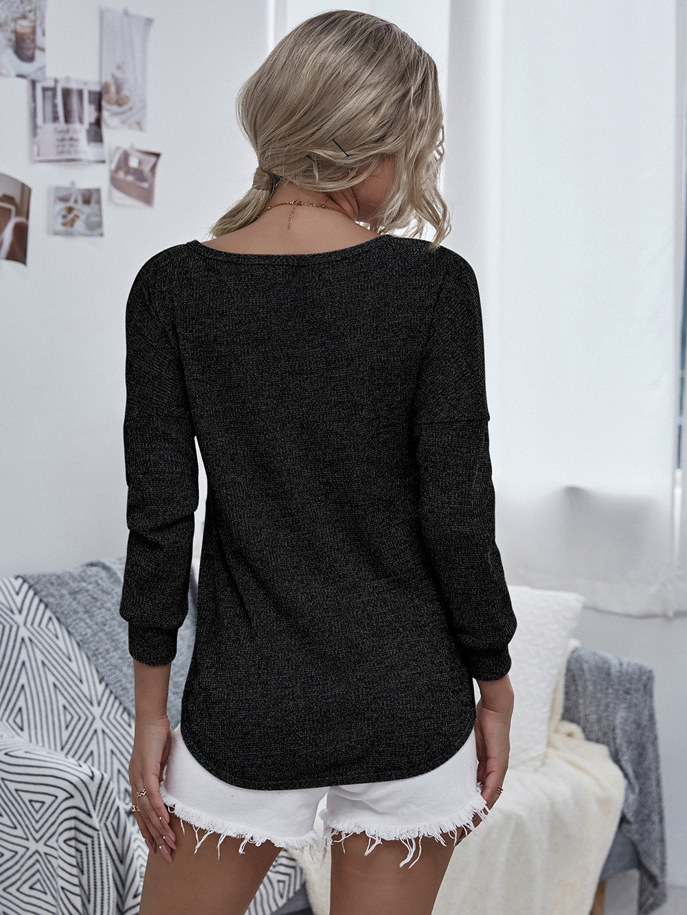 Knitwear Women's 2020 Fall/Winter New Long Sleeve Tops  NHDF66