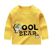 SOGNI MIEI 網店代理兒童T恤 春季打底衫女童 韓版純色圓領單長袖