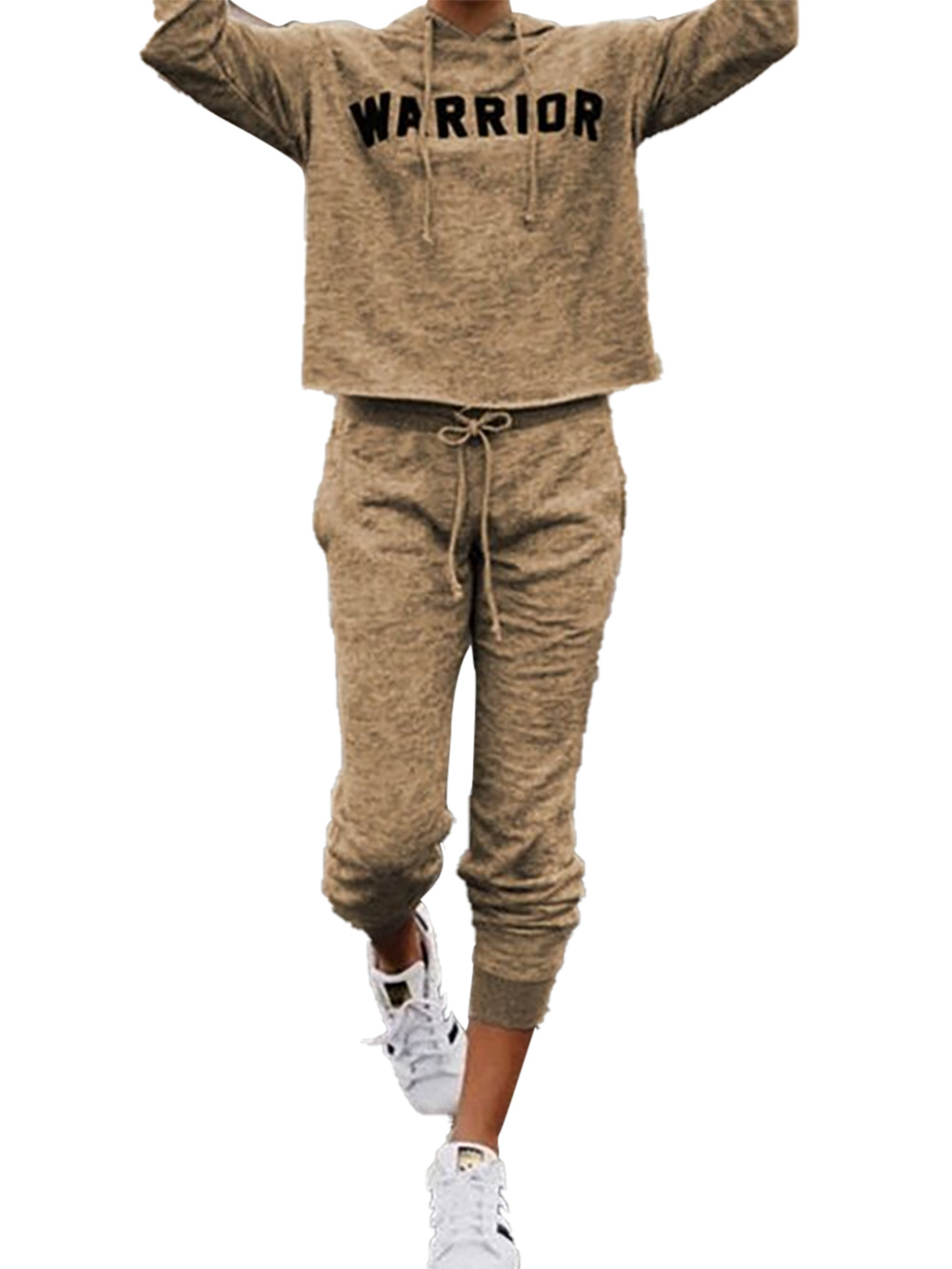 women's hot sale English long-sleeved sweater trousers sportswear suit NHDF65