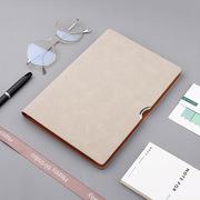 创意商务笔记本定做 A5活页笔记本 PU办公会议记事本定制LOGO