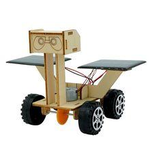 学生科技小制作太阳能月球车机器人创意diy材料科学实验玩具批发