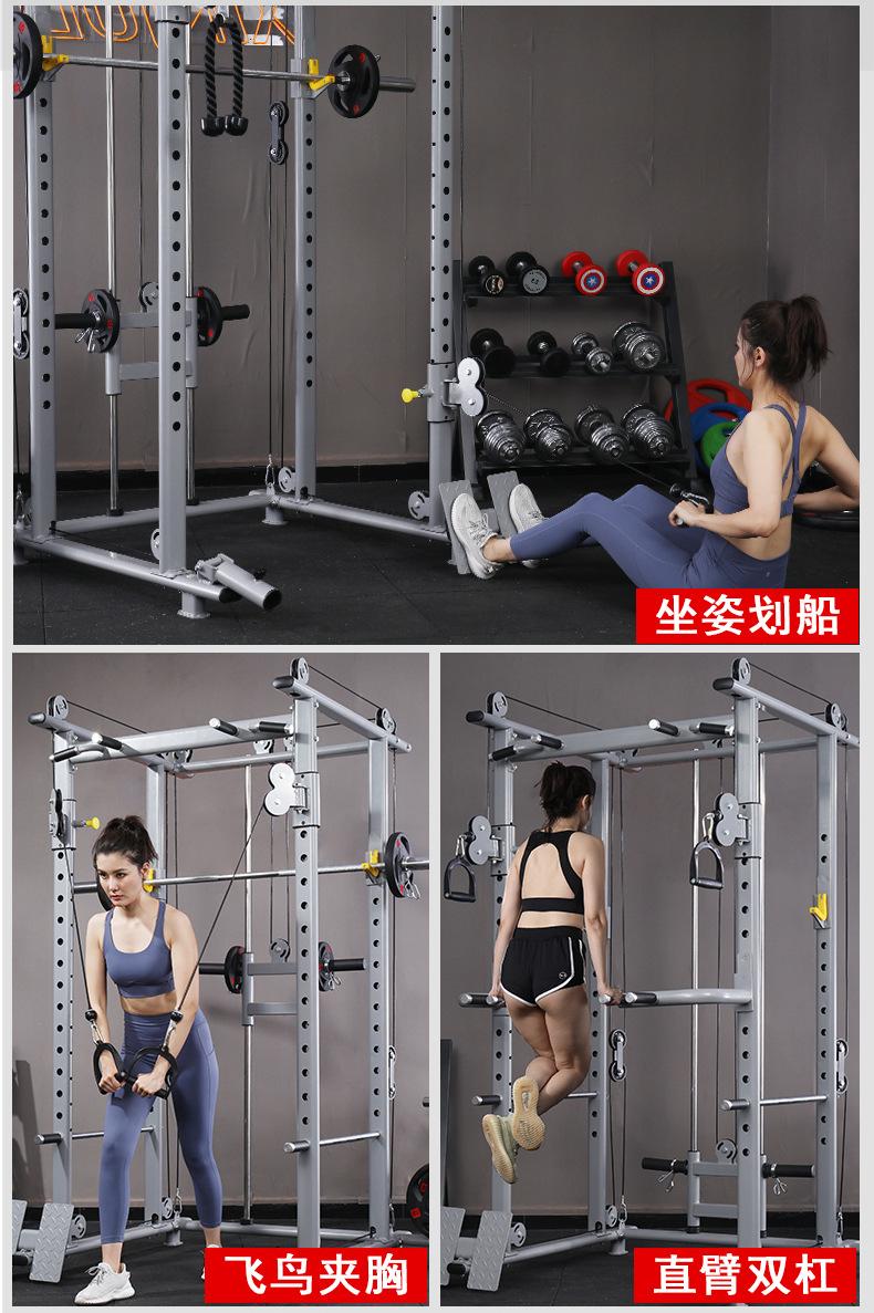 龍門架小飛鳥綜合訓練器框式自由深蹲架家用健身器材