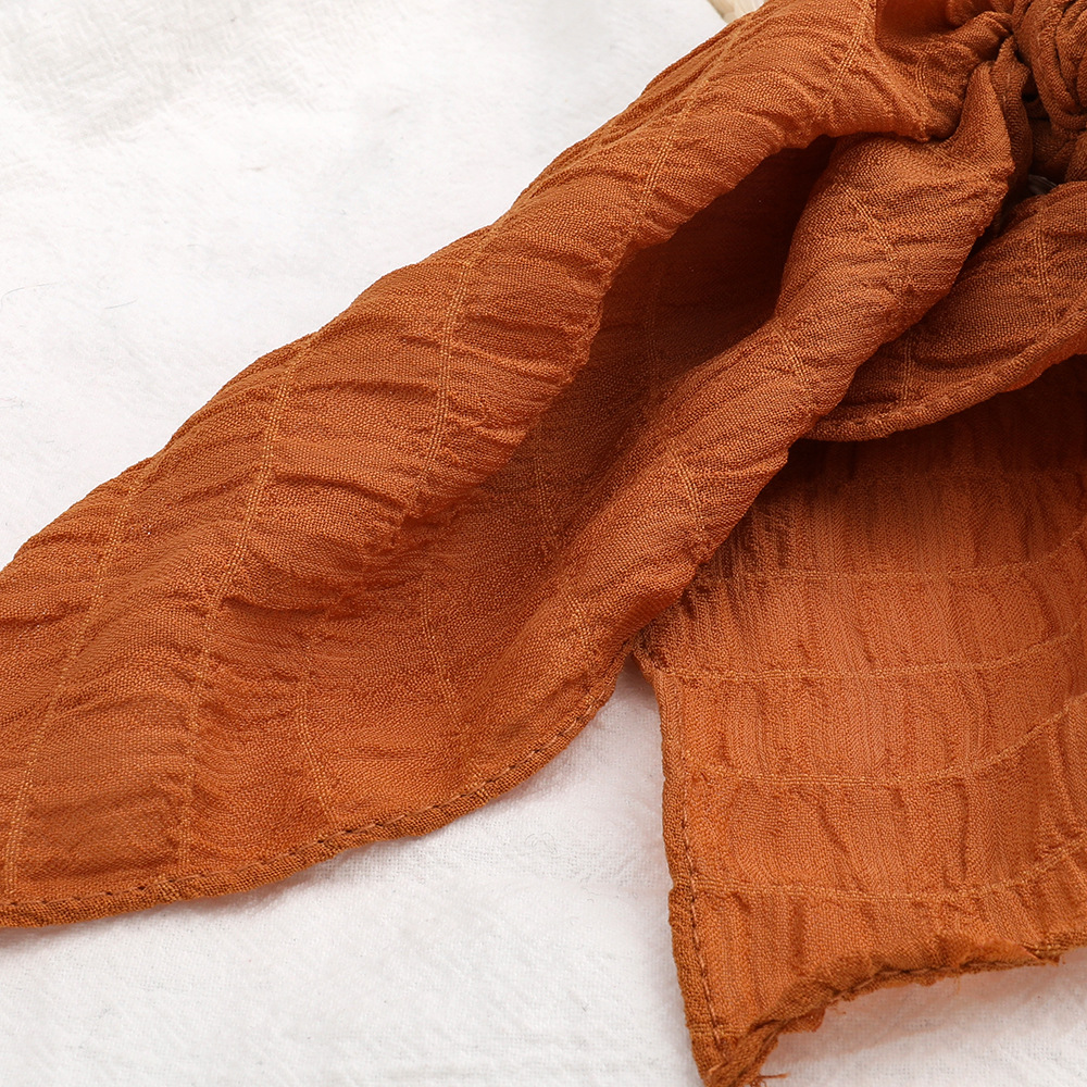 Korean  simple fashion  floating towel   ribbon cheap  hair scrunchies nihaojewelry wholesale  NHJE215110