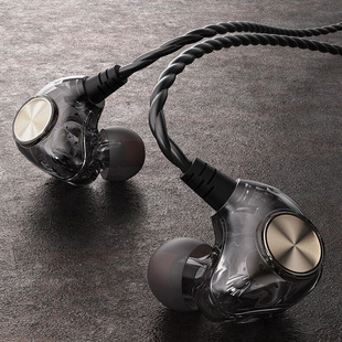 X1 Android In-Ear Around the Ear Sports HIFI Universal Heavy Bass Wired Phone Headset Pinduoduo Explosion