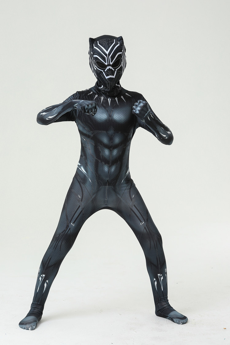 Black Panther Costume Adult Kids All Sizes
