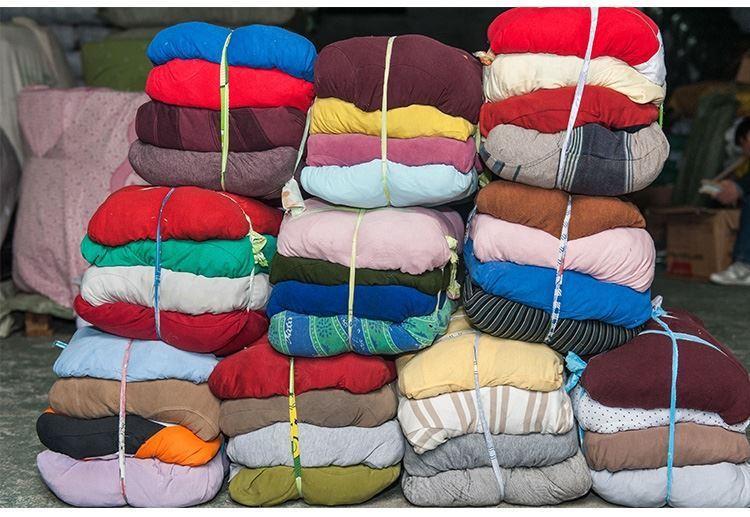 小块棉纱布手工废布料工业抹布小破布机器机床废布布料条纹吸水