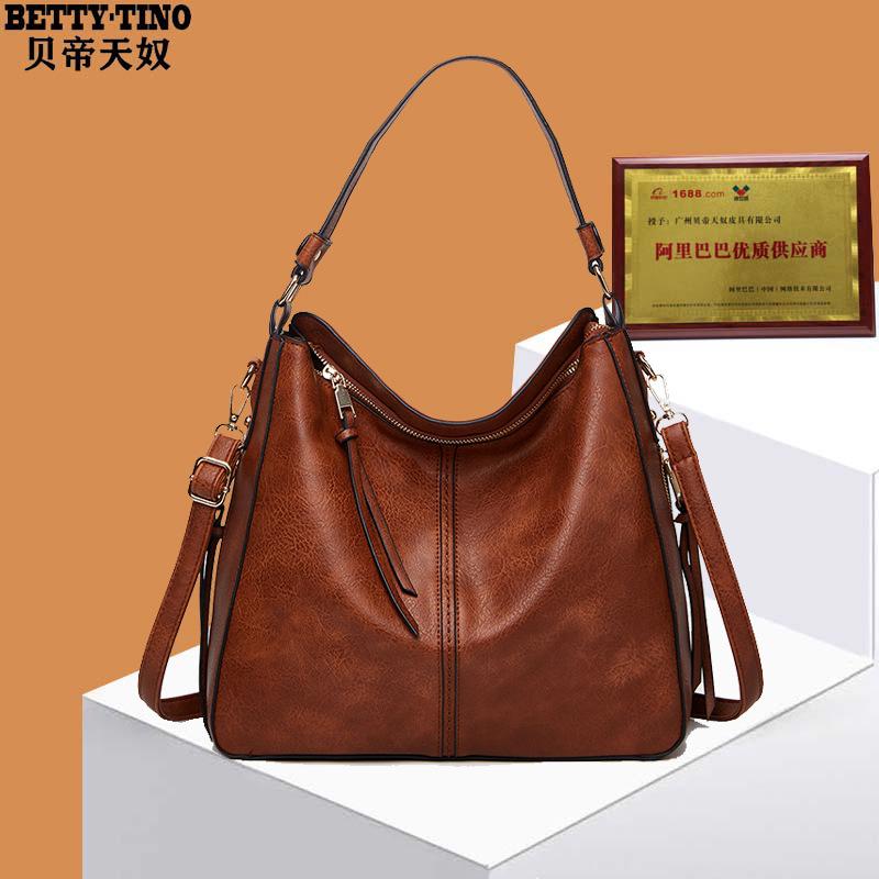 Women's Bag Large Capacity Messenger Shoulder Bag Portable Tote Bag