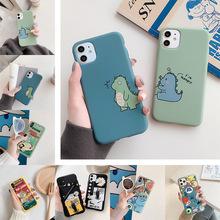 新款浮雕彩绘保护套卡通TPU硅胶苹果手机壳适用华为OPPO防摔VIVO