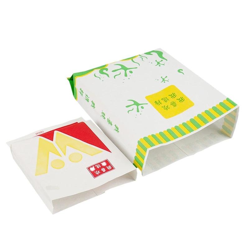 牛皮纸手提袋烘焙西点外卖打包袋购物礼品纸袋定制印刷logo淋膜纸