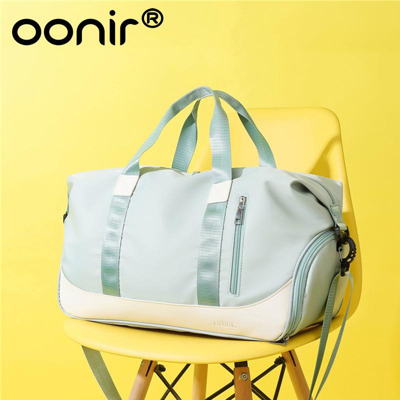 Sports Gym Bag Yoga Bag Dry and Wet Separation Shoe Position Short-distance Portable Travel Bag