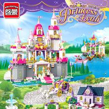 積木9拼裝益智好朋友玩具啟蒙-78別墅歲系列6女孩10公主馬車城堡