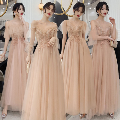 Evening dress Bridesmaid Dress Bridesmaid Dress fairy Bridesmaid group sister dress skirt long girl