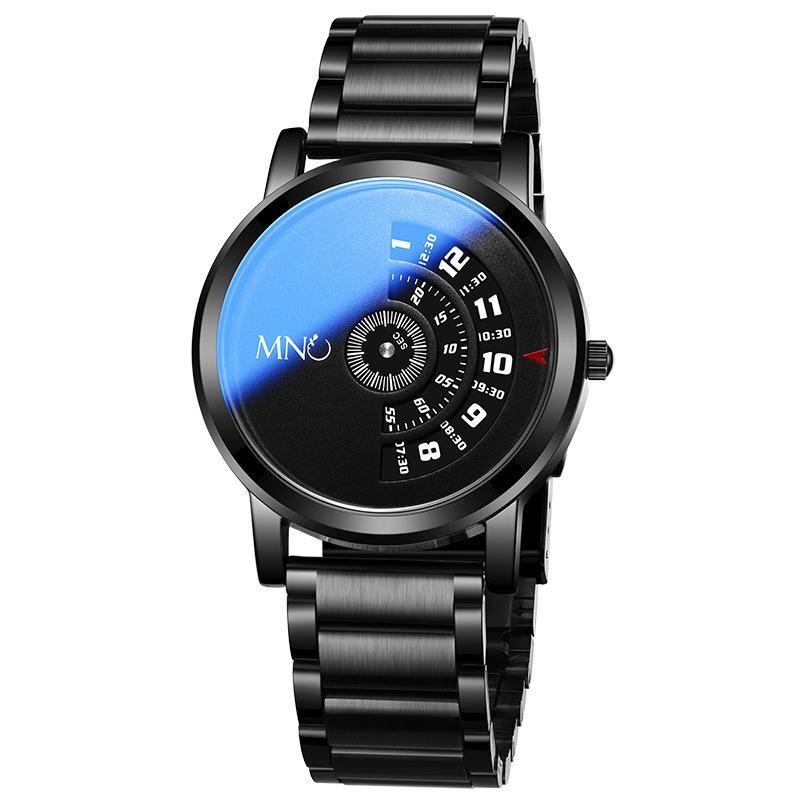 梦梭手表防水一件代发 无指针创意个性石英表男士时尚学生表跨境