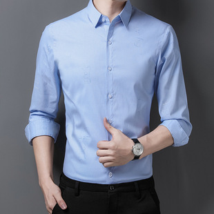 Yaxite 2021 autumn new products men's long-sleeved shirts fashion casual youth tops men's shirts men