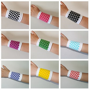 Basketball wristband female ins tide sweat-absorbent sprained protective gloves male scar tattoo hip-hop hip-hop all-match protective gear