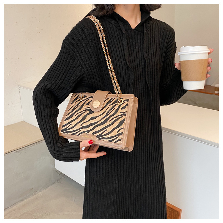 popular new trendy fashion wild leopard crossbody bag  NHLH270284
