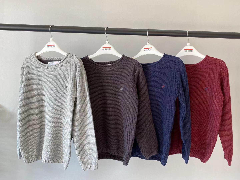 【9060】正原  英国MINOTI儿童套头毛衣