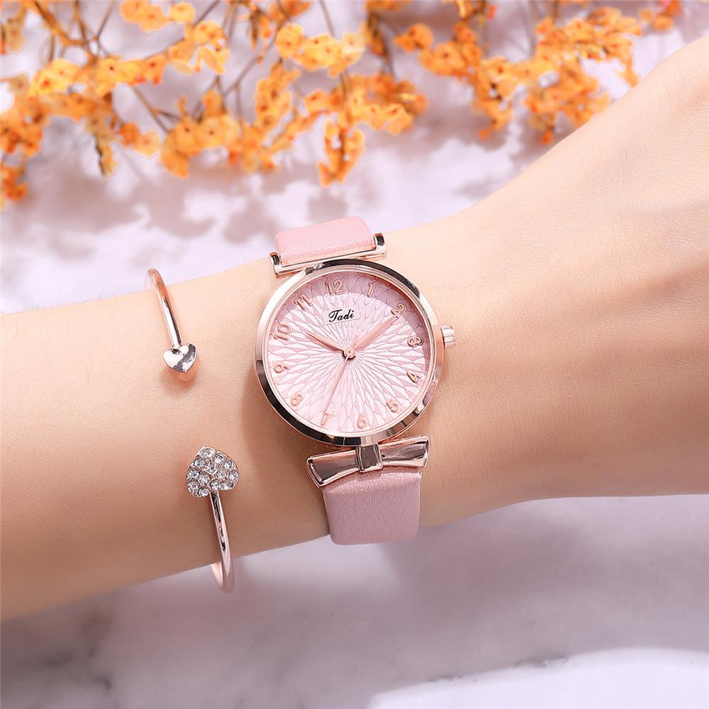 New fashion ladies watch Korean digital face quartz casual belt watch fine belt watch women NHSY196759