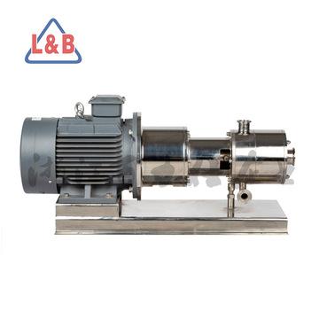 厂家?供应三级高剪切乳化泵 管线式均质乳化机 剪切泵