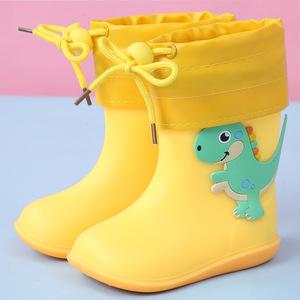 ឈុត អាវភ្លៀង ស្បែកជើង Baby raincoat rain boots set children boy and girl pz318665