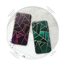 來圖定制手機殼彩色幾何ONEplus一加6手機殼簡約浮雕1+5t保護套