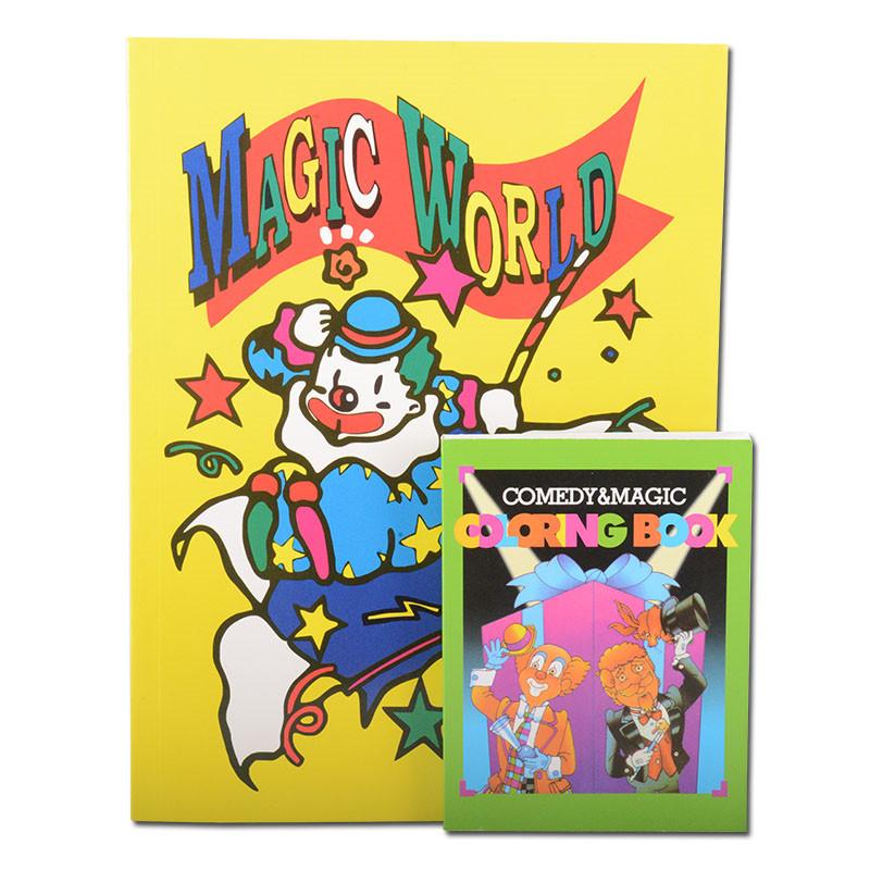 包邮 彩色魔法卡通书 动画卡通书 变色卡通书 儿童玩具 魔术道具