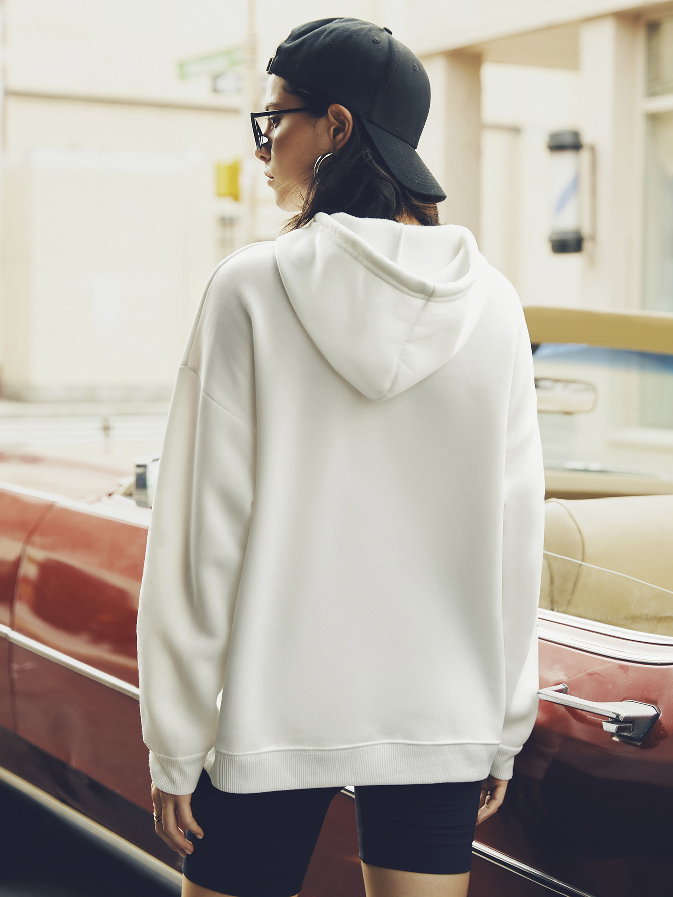 women hot autumn and winter hooded women's sweaters popular letter printing NSSN366