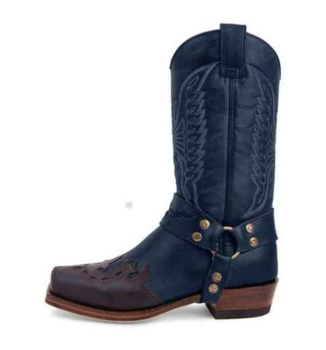 knight boots for women round toe breathable knight boots mesh boots with buckle
