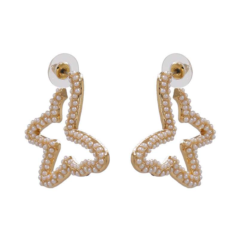 New Exaggerated Stud Earrings Butterfly Diamond Earrings for women wholesale NHJJ207162