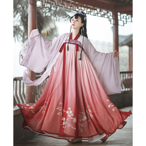 Traditional Hanfu Xiaoqing students