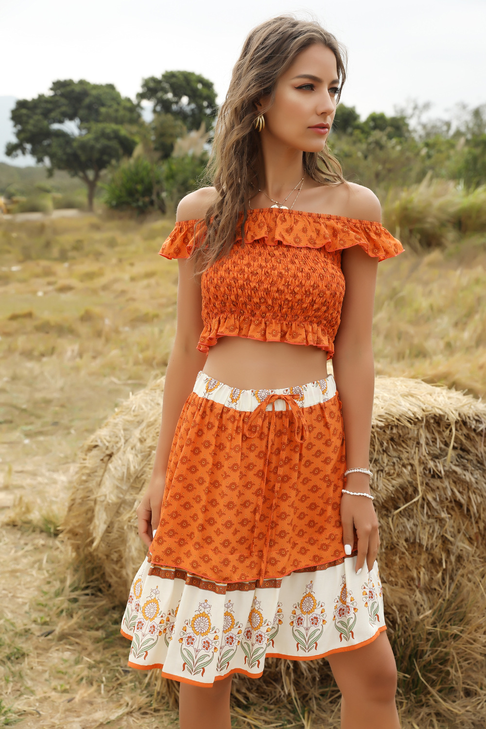 Fashion women's casual suit spring and summer wholesale NHDF204867