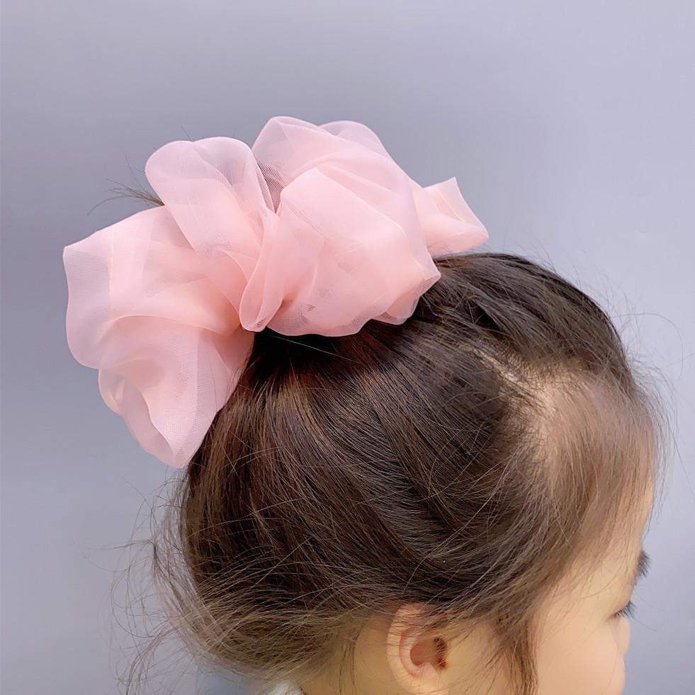 organza sweet hair scrunchies NHFS315605