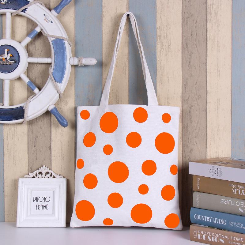 (厂货通)帆布包购物袋时尚帆布袋单肩购物手提帆布包女文艺购物包