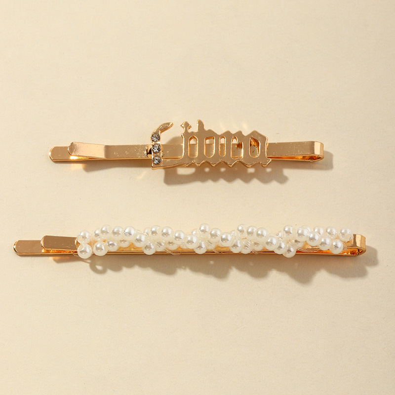 fashion twelve constellation  rhinestone hairpins  NHAU270235