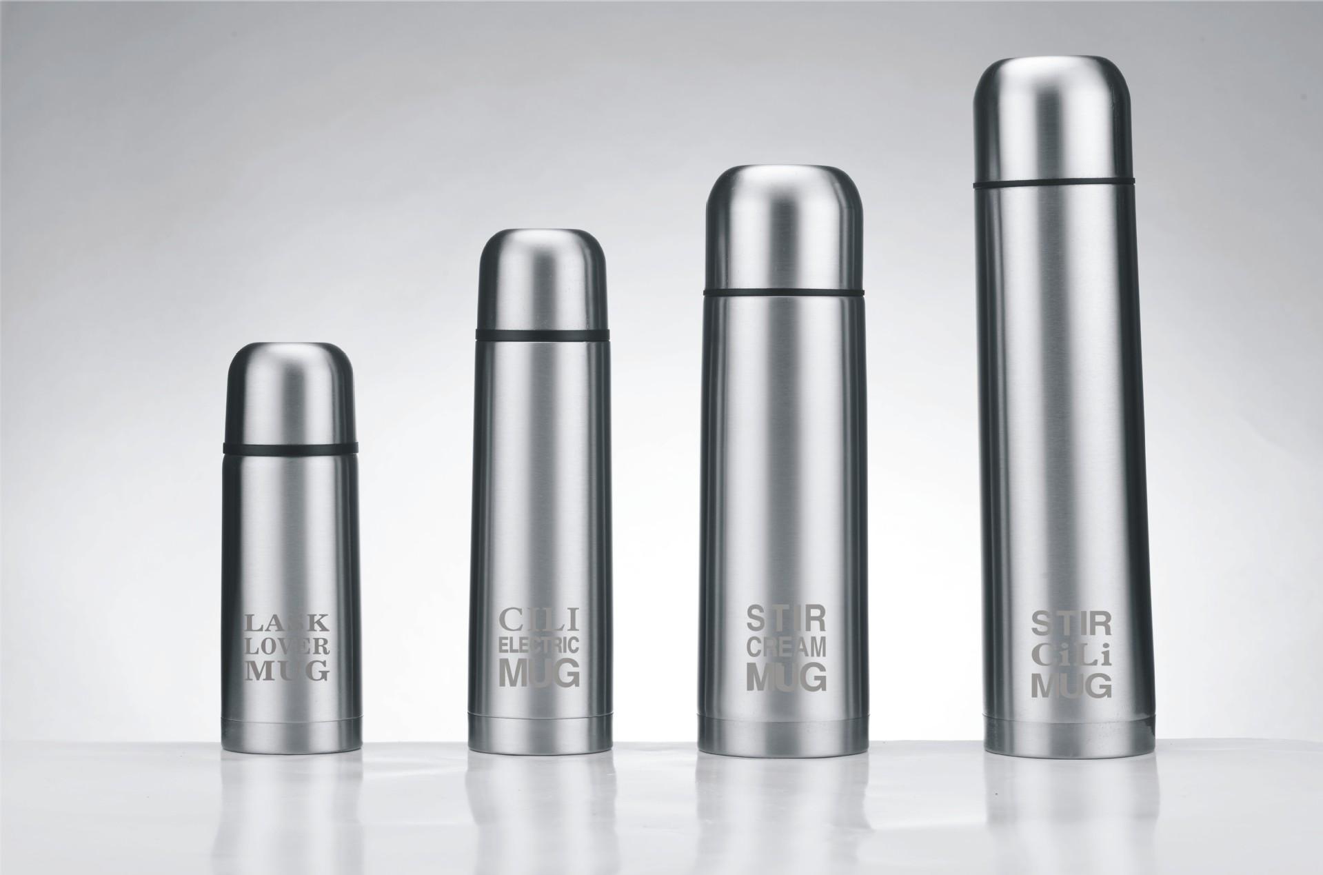 厂价供应不锈钢杯保温杯 礼品批发 子弹头杯加工定制印刷专版LOGO