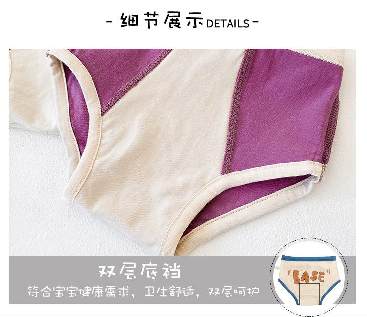 children's underwear sports letters baby triangle cotton children's shorts wholesale  NHER246546