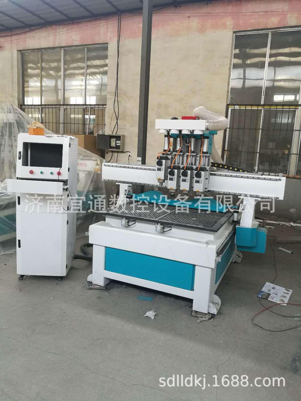 批量生产销售板式家具开料机 二手木工机械 四工序数控开料机