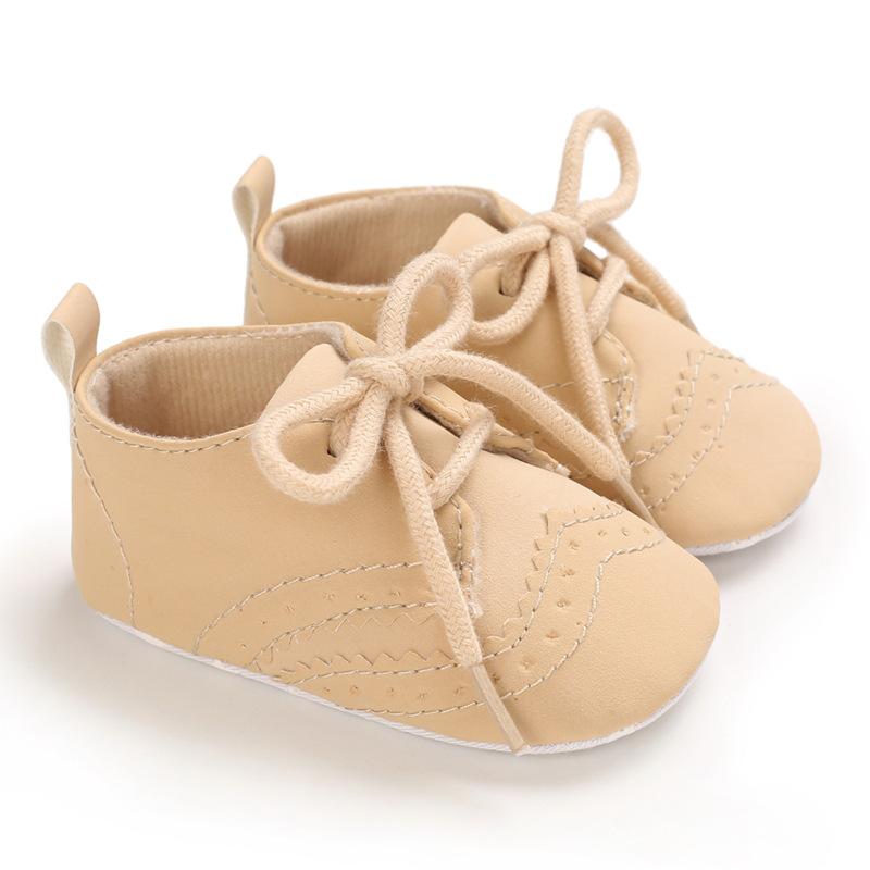 Haiya الربيع والخريف الرجال والنساء الرضع 0-1 سنة لينة سوليد حذاء طفل رضيع عارضة دعم قطرة واحدة الشحن