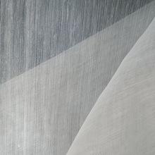厂家直销 小竹节加密细纱窗纱 永久阻燃 美式白纱窗帘 可定制