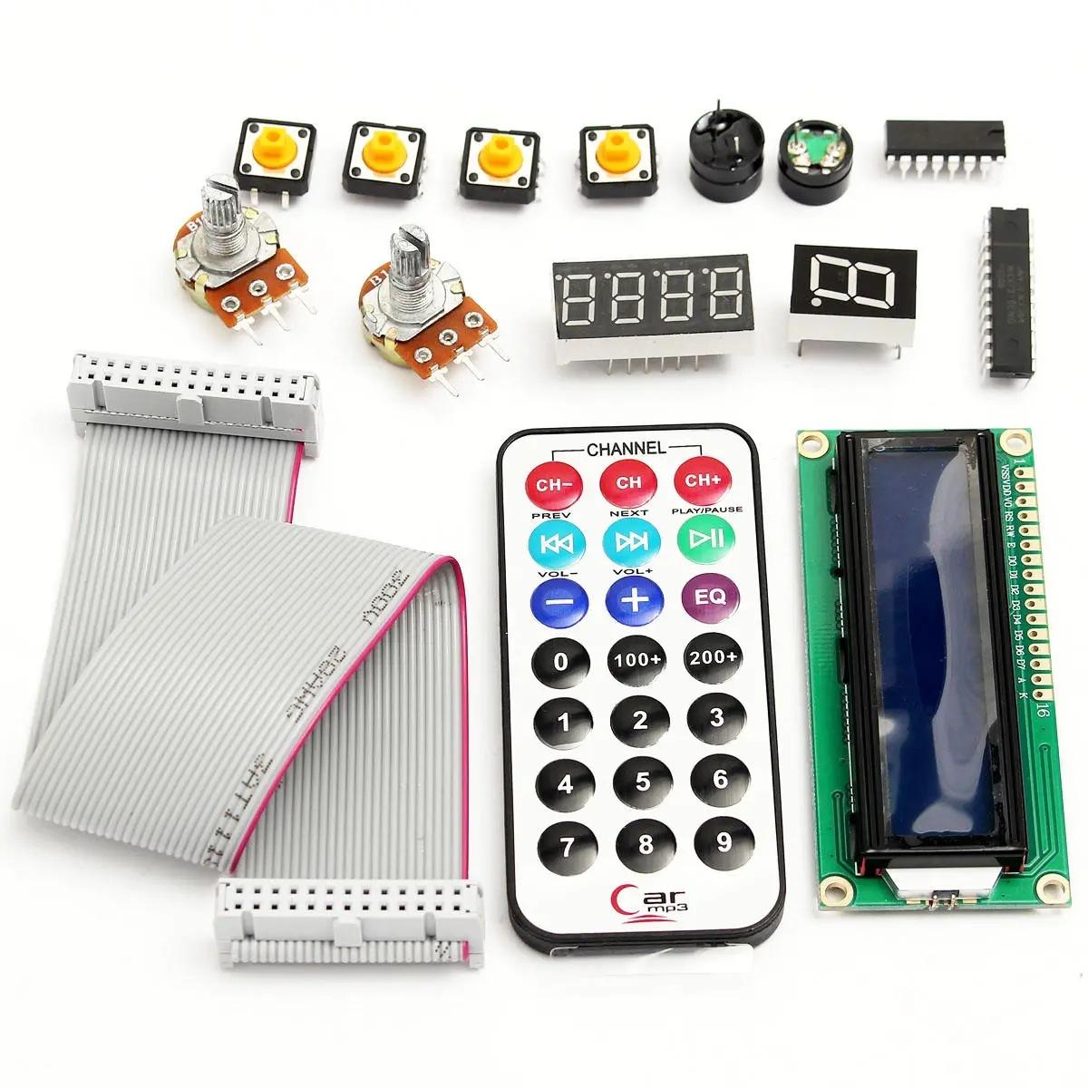 منظمة أمم متحدة R3 مطلق عدة 1602 LCD أجهزة الموجات فوق الصوتية السيارات الصمام تتابع مناسبة ل Arduino