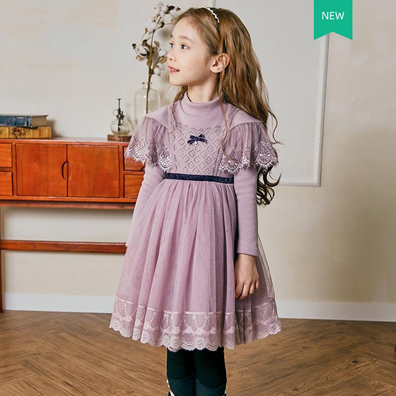 2020 الشتاء النساء جودة عالية النسخة الكورية الأميرة اللباس الأميرة تنورة زائد المخملية زائد سميكة مش تنورة المنتجات الجديدة 55