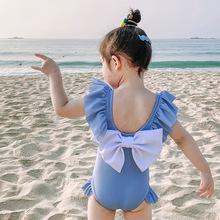 Bộ đồ bơi bé gái thời trang, thiết kế dễ thương, phối nơ xinh xắn