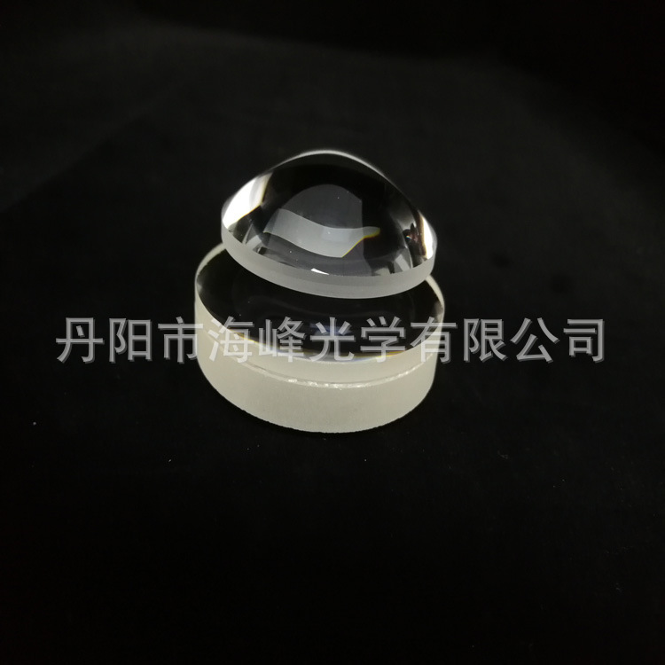 光学透镜 玻璃透镜 平凸透镜 聚光透镜 透镜冷加工  镜片加工
