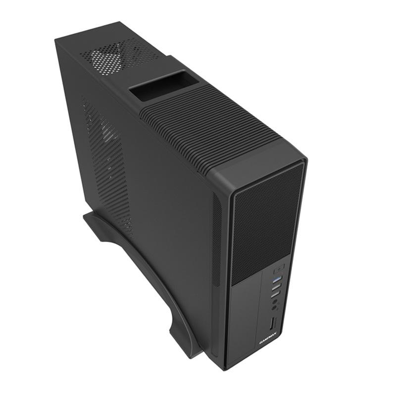 游戏帝国GAMEMAX小精灵S612电脑主机箱电源套装迷你台式机箱matx