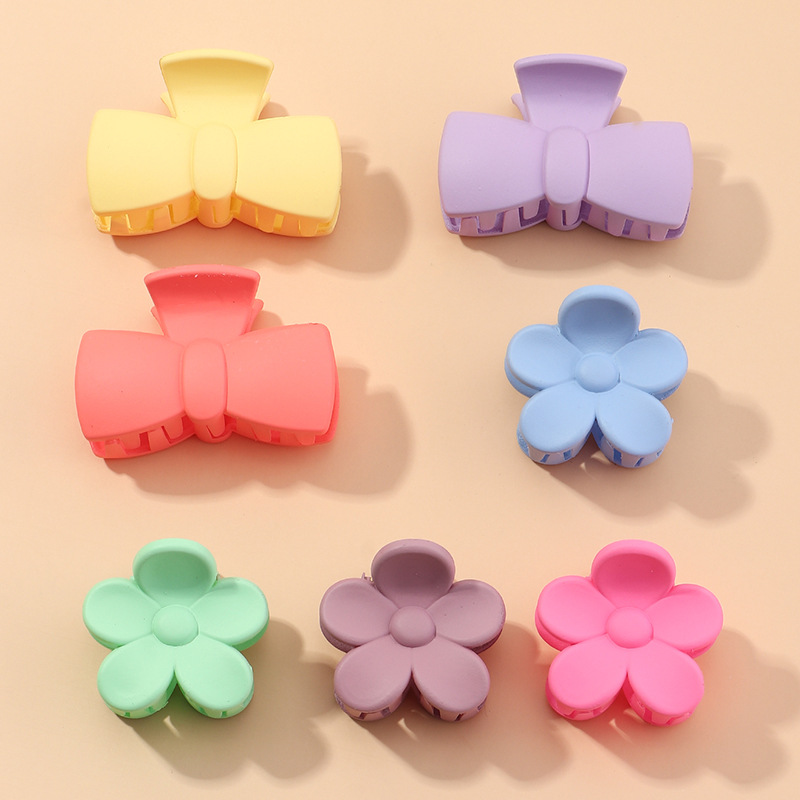 new large bath tray hair clip frosted practical hairpin headdress suit wholesale NHAU240829