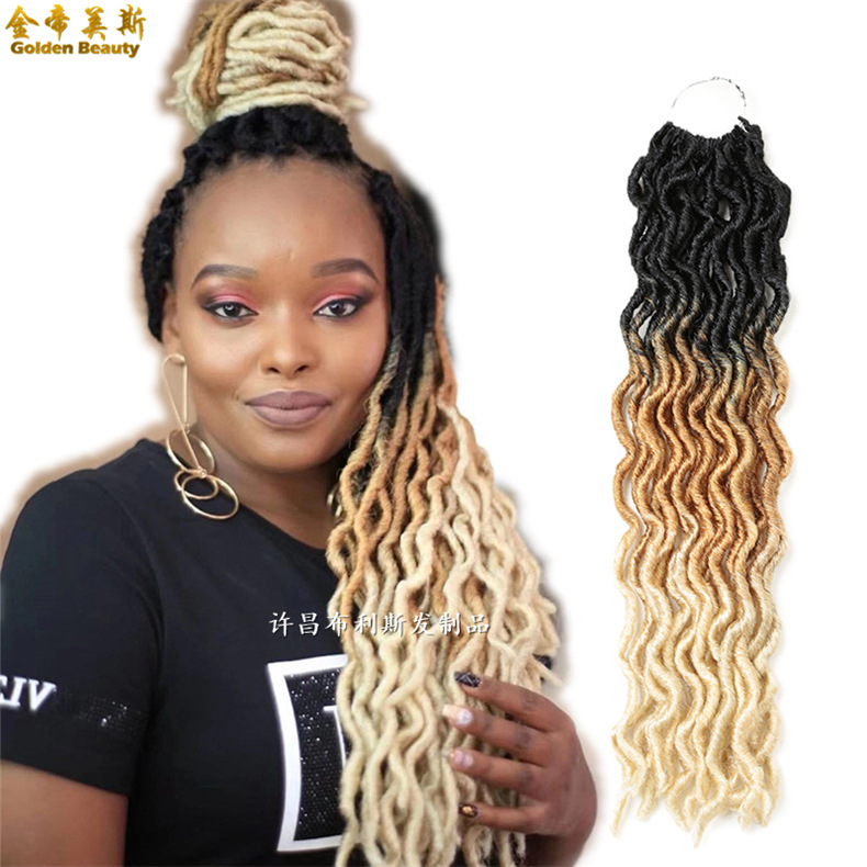 Factory direct supply cross-border wigs...